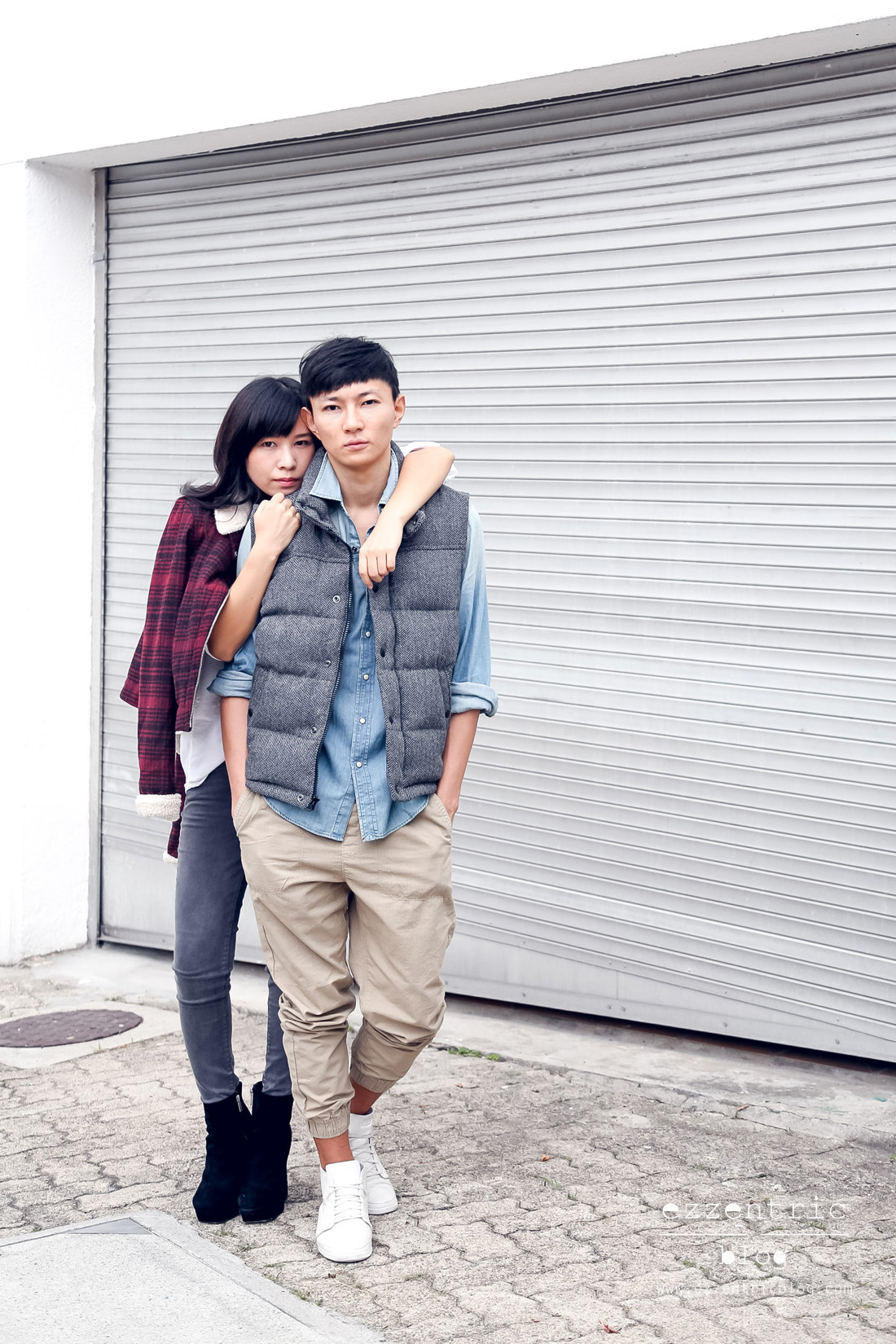 American Eagle Denim X Jeans Couple Outfit _ 05