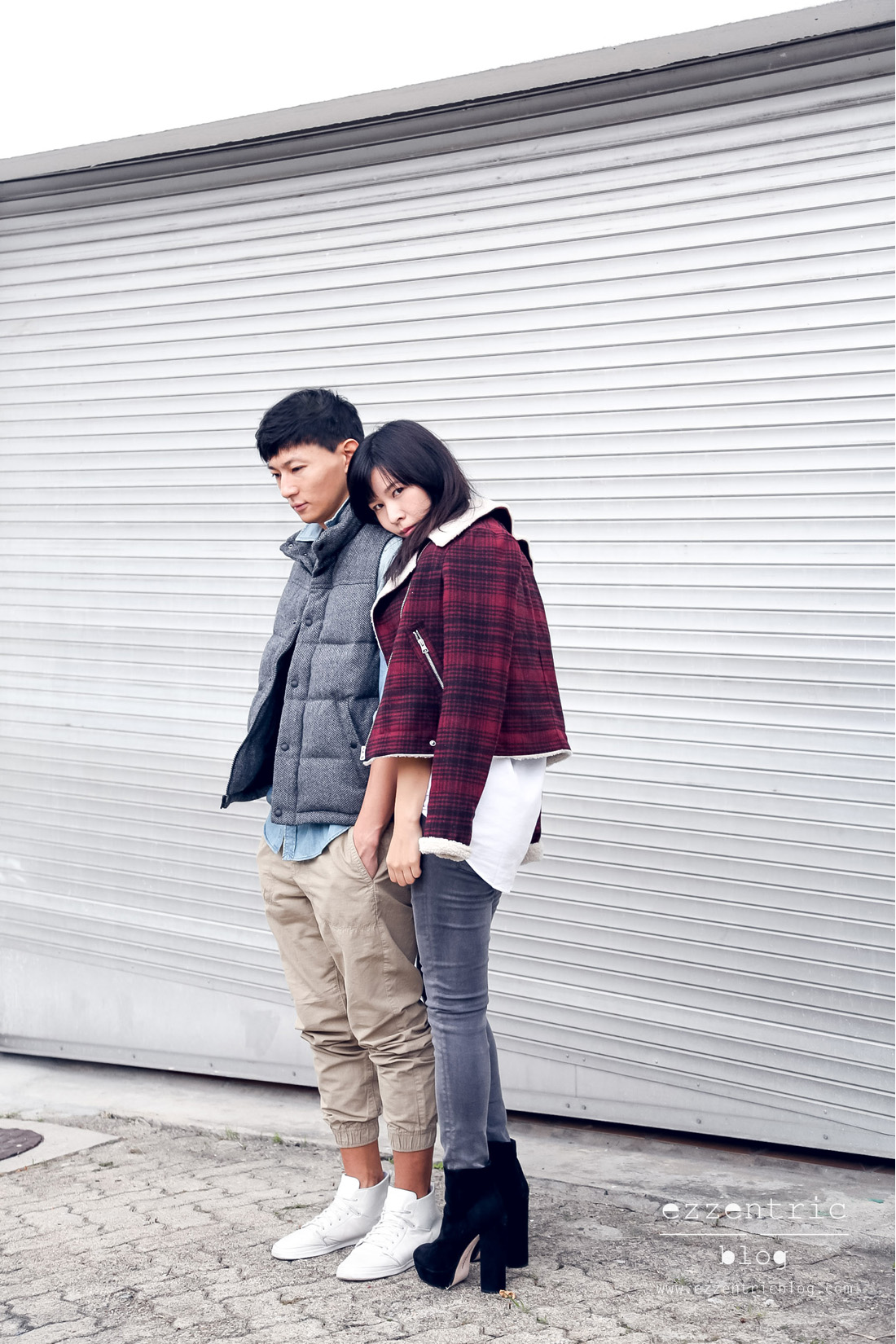 American Eagle Denim X Jeans Couple Outfit _ 06