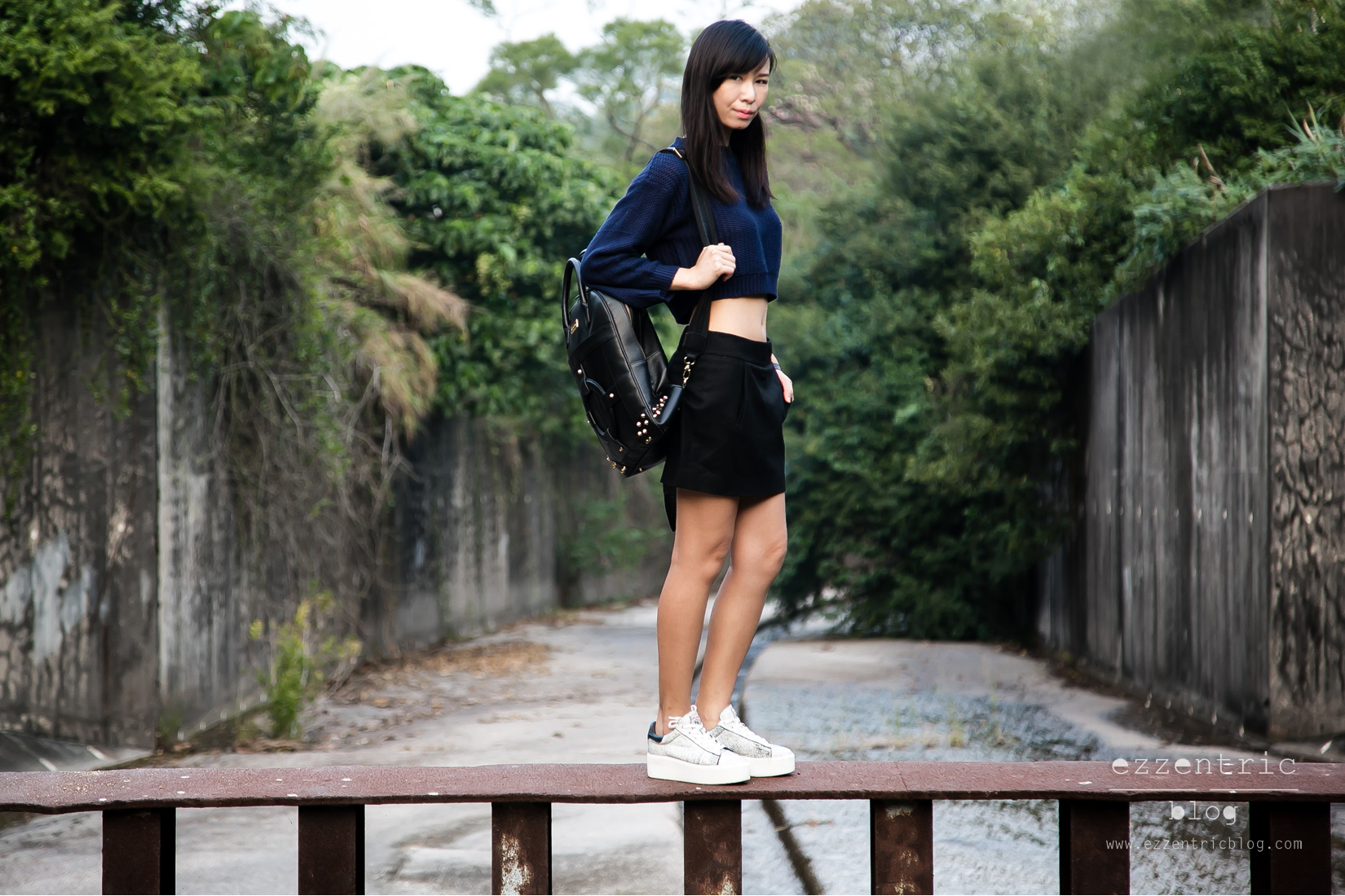 Armani Watch , Ash Platform Sneakers , Backpack Outfit 03