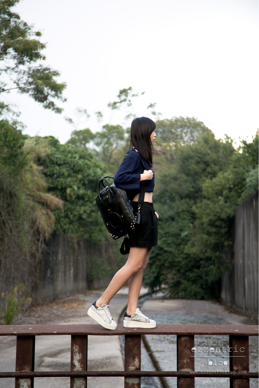 Armani Watch , Ash Platform Sneakers , Backpack Outfit 04