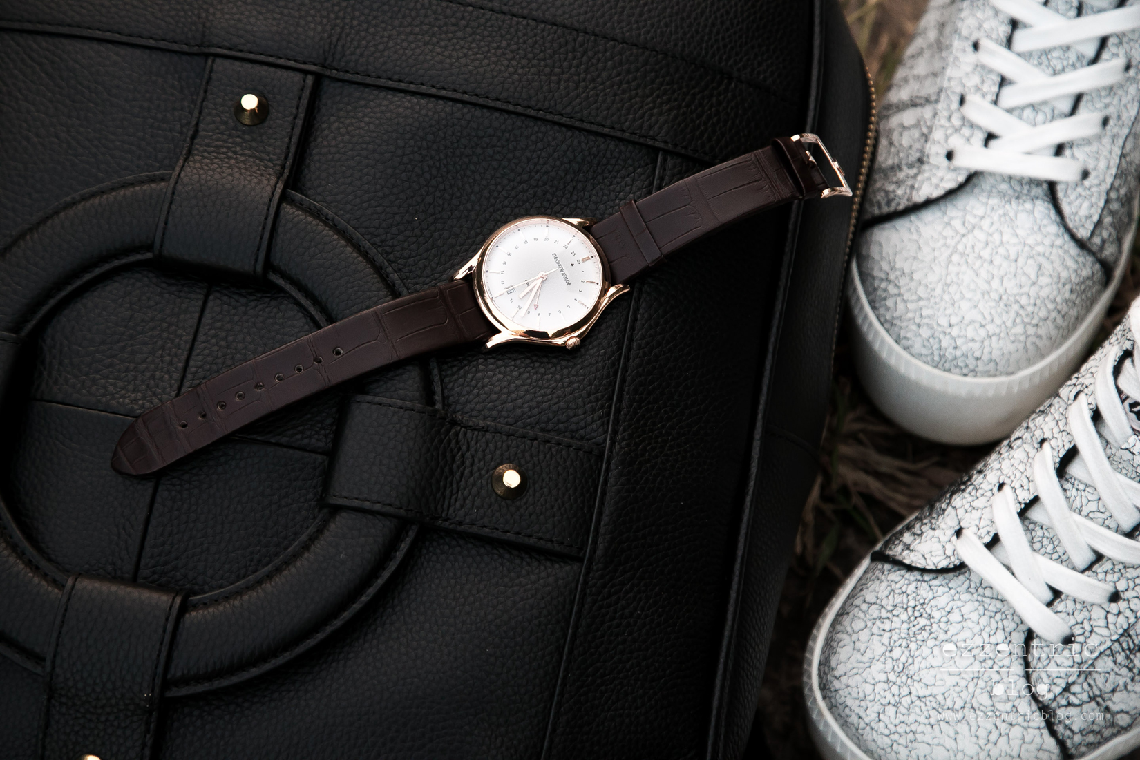 Armani Watch , Ash Platform Sneakers , Backpack Outfit 05