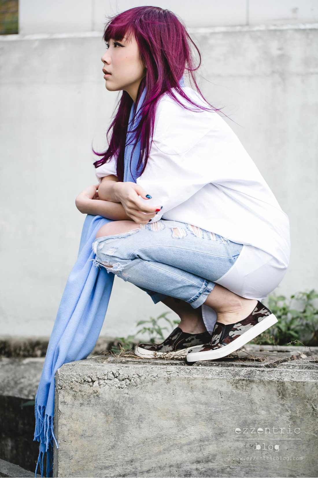 American Apparel TopShop Slip Ons Sneakers Blogger Outfit 07