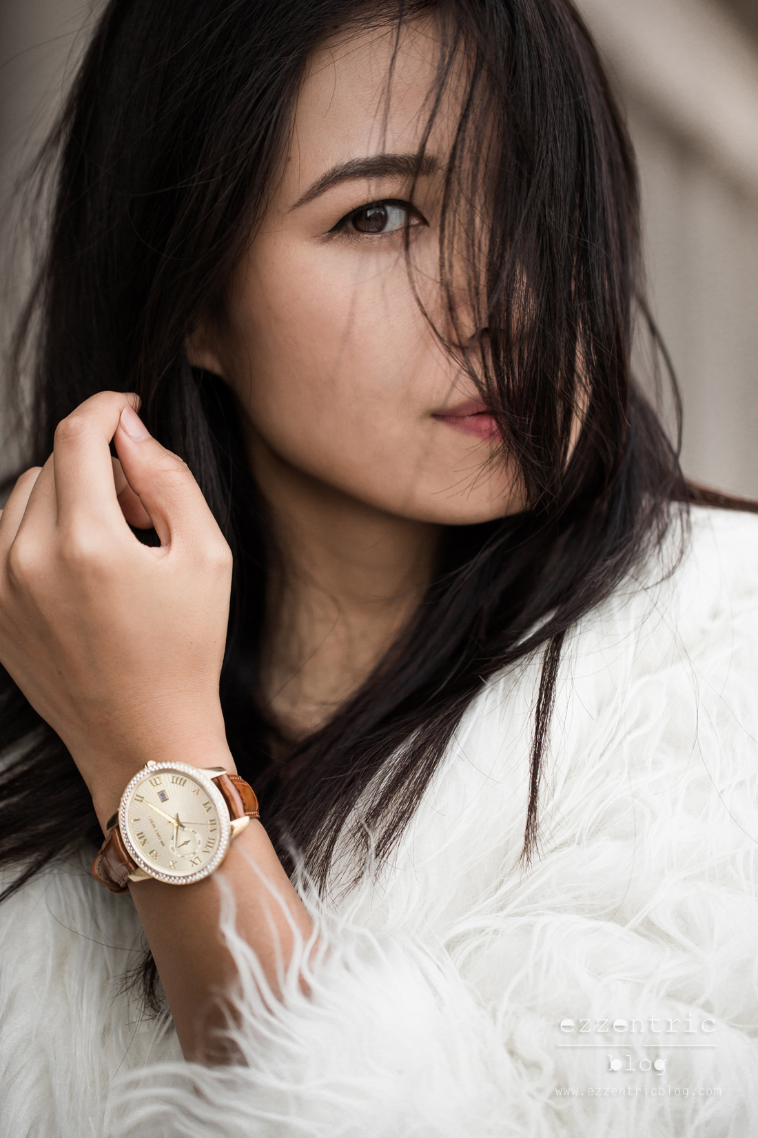 Micheal Kors Brown Watch Styling 05