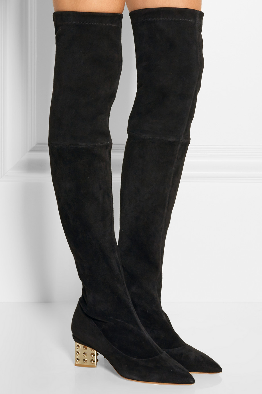 Nicholas Kirkwood's over-the-knee boots