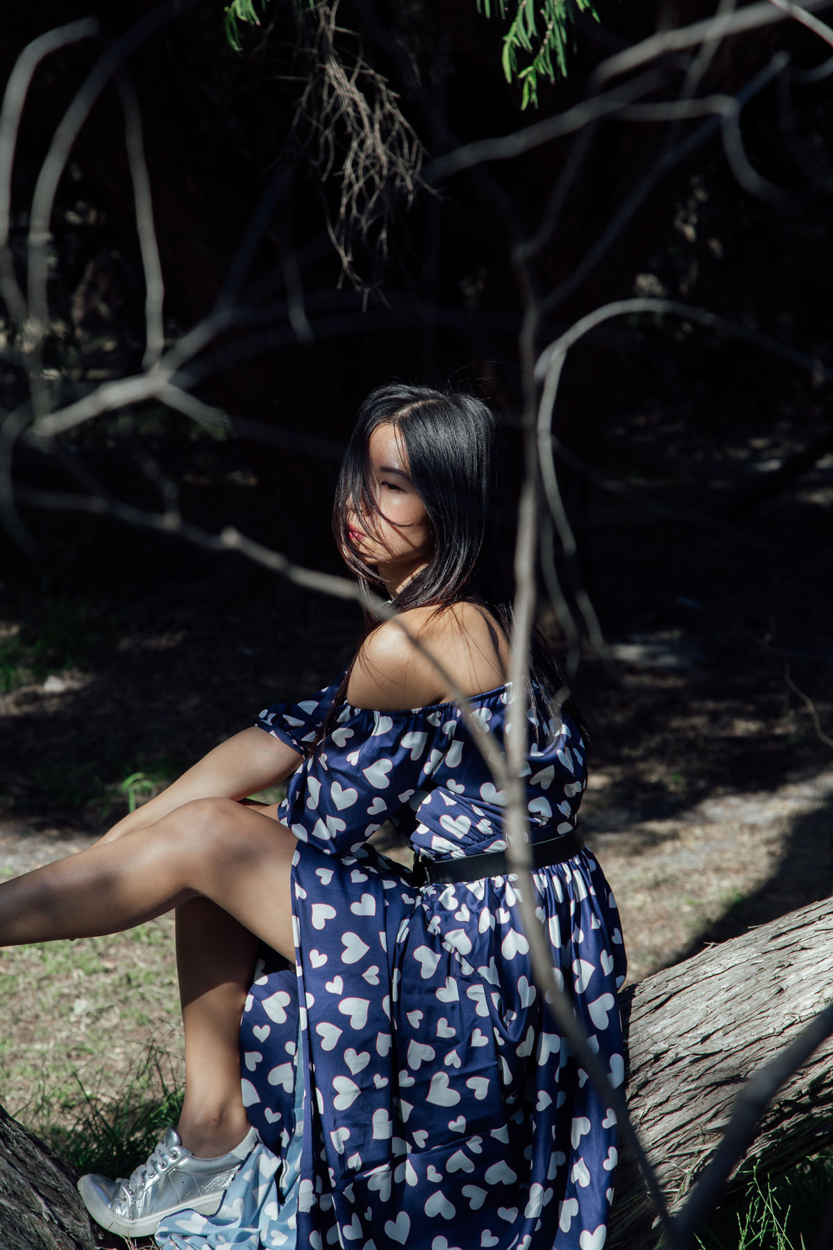 Off Shoulder Maxi Dress Editorial - Ezzentricblog.com