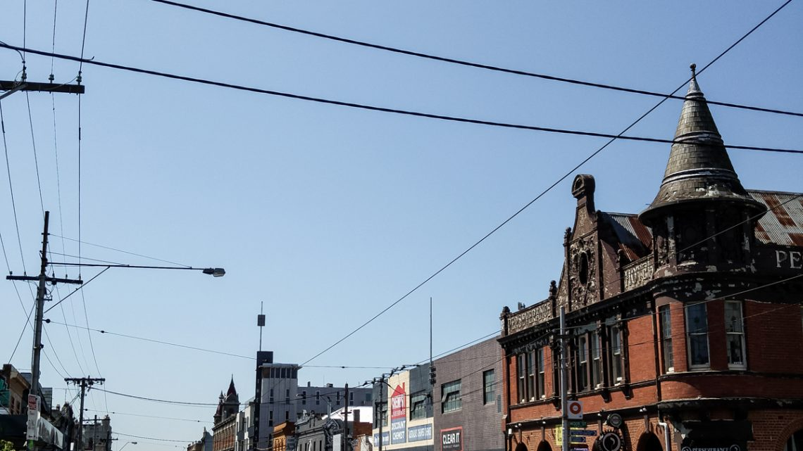 Melbourne Travel Diary 2016 Brunswick Steet COVER